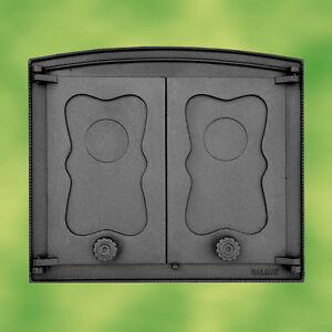 Puerta de horno de hierro fundido 2 alas para horno de for Horno de hierro fundido