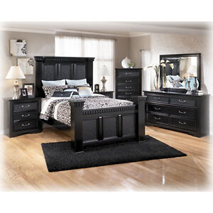 ashley bedroom cavallino furniture large night stand free shipping new