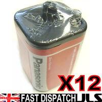 12 Panasonic 4r25 6v Baterías 6 Voltaje 996 Pj996 908 908s Linterna 4r25x 4r25rz - panasonic - ebay.es