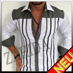 Long-Sleeve-Shirt-Shirts-Men-White-Slim-Fit-Black-Red-S-M-L-XL-XXL-XXXL-3XL-NEW