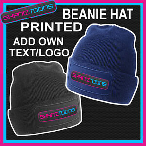 BEANIE-HAT-PERSONALISED-WITH-YOUR-OWN-LOGO-TEXT-BUSINESS-WORKWEAR