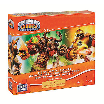 Skylanders Giants Panoramic Puzzle 150-Pc - 4 Characters #zCL