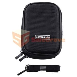 Black Digital Camera Pouch Case Bag for Sony Cybershot DSC-WX9 W510 W560 W530