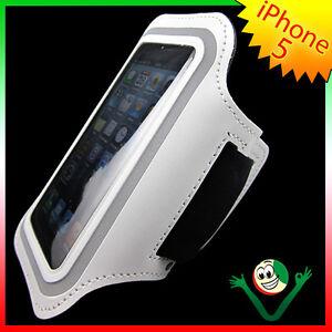 Armband fascia braccio sport per ipod touch 5 bianco porta - Porta ipod da braccio ...