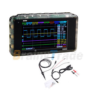 Mini-4CH-ARM-DSO203-Nano-V2-Quad-Pocket-Digital-2MB-USB-Storage-Oscilloscope-New