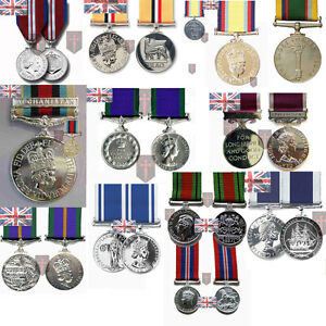 Large-Selection-of-Official-Miniature-Medals-with-Ribbon-WW2-Diamond-Herrick
