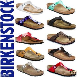 BIRKENSTOCK-GIZEH-SLIP-ON-MOLDED-SUEDE-FOOTBED-SANDALS-SHOES-UK-SIZES-2-8-NEW