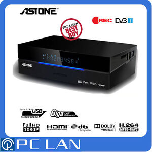 Astone Media Gear MP-310DT 1080p Media Player PVR Recorder USB3.0 No HDD