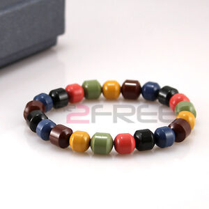 New-Power-Ionic-Health-Ion-Tourmaline-Beads-Stretch-Bracelet-Wristband-w-Box