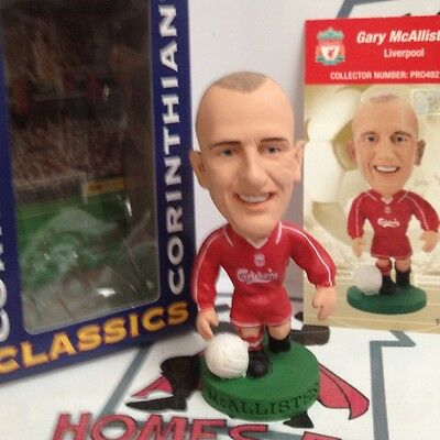 CORINTHIAN PROSTARS LIVERPOOL GARY McALLISTER PRO492 NEW SEALED IN WINDOW BOX