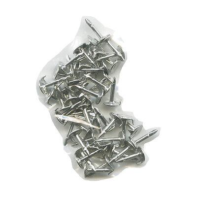 50 kleine neue silberne Pinnadeln - Ersatz für Metall Button und Pin Anstecker