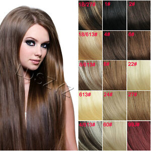 Full-Head-Set-14-30-Clip-in-Remy-Human-Hair-Extensions-Hot-7800-more-sold