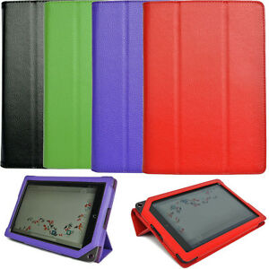 Genuine-Leather-Case-Cover-Folio-for-Barnes-Noble-Nook-HD-Plus-9-inch-Tablet