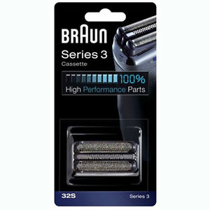 Braun 32S Series 3 Replacement Foil+Cutter for 330 350CC 370CC 380 390CC etc.
