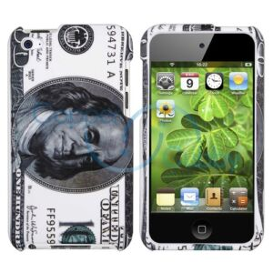 US Hundred Dollar Money Full Hard Case Cover for Apple iPod Touch 4th Gen 4