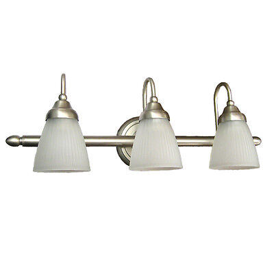 Brushed Nickel Or Chrome Or Oil Rubbed Bronze 3 Light Wall *Your Choice* on Rummage
