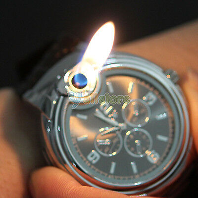 Novelty Watch Refillable Butane Cigarette Lighter on Rummage
