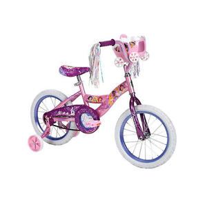 Huffy-16-inch-Bike-Girls-Disney-Princess-with-Carriage