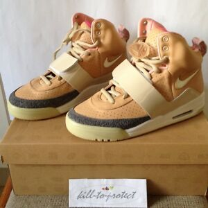 Nike Air Yeezy 1 Net Net Tan US 8 5 UK 7 5 366164 111 Glow ...