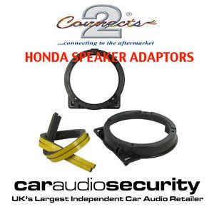 HONDA-Civic-5-25-130mm-13cm-Front-Door-Speaker-Adaptor-Plates-Pod-CT25HD03