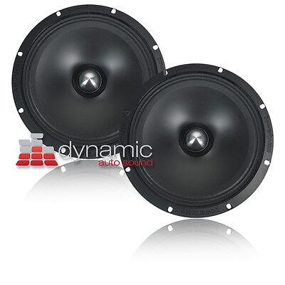 "2 Powerbass 4xl-80-94 Car Audio 8"" Composite Midrange Speakers 600w (pair)"