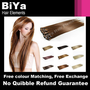 18-22-24-FULL-HEAD-CLIP-IN-HAIR-EXTENSIONS-LONG-STRAIGHT-CHOOSE-30-COLOURS