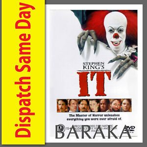 Stephen King's IT King DVD R4 New & Sealed