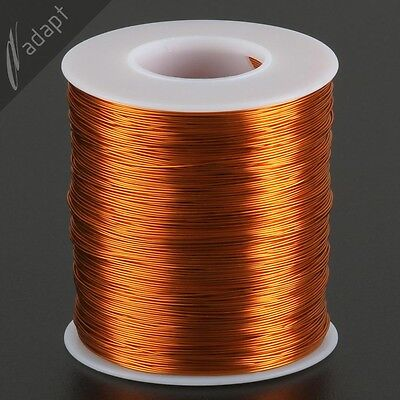 25 AWG Gauge Magnet Wire Natural 1000' 200C Enameled Copper Coil Winding