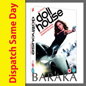Dollhouse Doll House Complete Series Season 1 & 2 DVD Box Set New