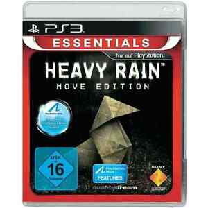 HEAVY RAIN MOVE EDITION ESSENTIALS PS3 BRAND NEW VIDEO GAME OFFICIAL PAL