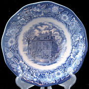 Liberty Blue Serving Bowl