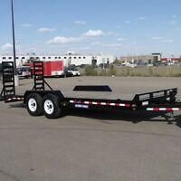 NEW SureTrac 7x20' Implement Trailer 14k GVW