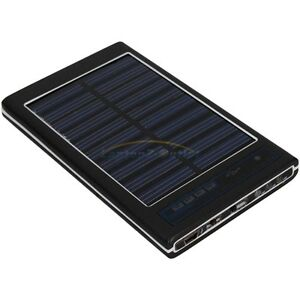 New-2600mAh-Solar-Panel-Power-USB-Battery-Charger-for-Cell-Phone-iPhone-Black