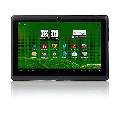 "4GB 7"" MID Google Android 4.0 Capacitive Tablet PC Multi-touch WIFI 3G Black on Rummage"