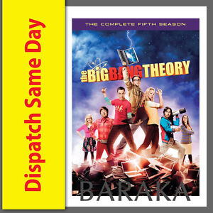 THE-BIG-BANG-THEORY-Complete-Season-5-DVD-Set-Series-five