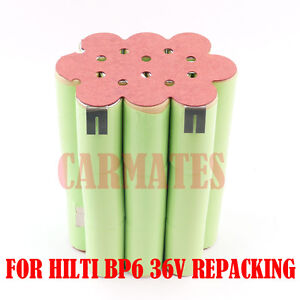 Battery Pack For HILTI B36 TE6-A BP6 -86/ 36V 3.0Ah Ni-MH Heavyduty Hammer drill