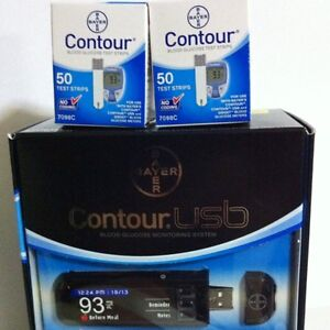 contour usb test strips