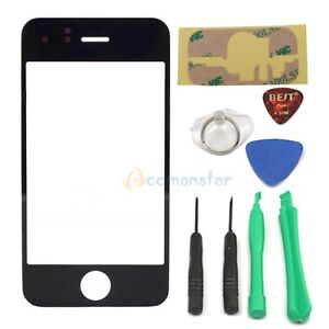Outer LCD Screen Glass Lens Replacement for Apple iPhone 3G 3GS + 8*Tools UK