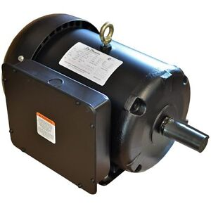 Single Phase Replacement Electric Compressor Motor 7 5 Hp