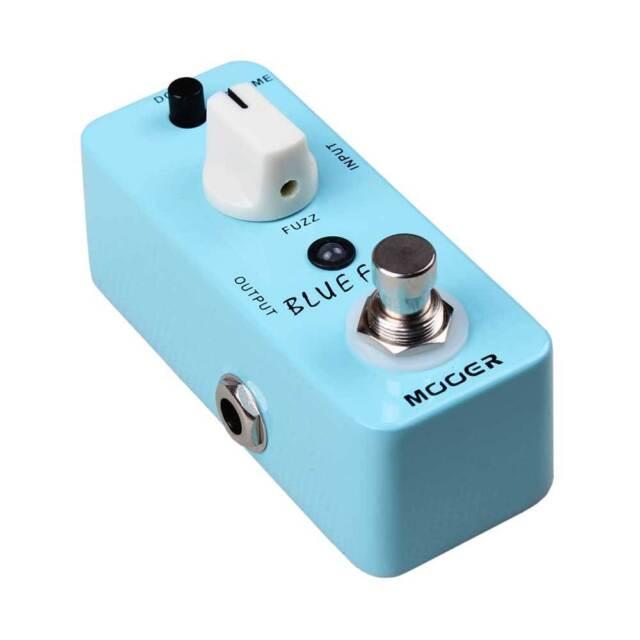 Mooer Micro Series Blue Faze Fuzz Guitar Effects Pedal / Stomp Box  - BRAND NEW
