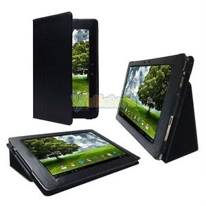 Leather Stand Cover Case for Asus Eee Pad Transformer 10.1 TF101