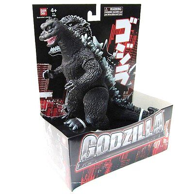 "Godzilla 1968 Bandai 6.5"" Godzilla Action Figure - New in box! on Rummage"