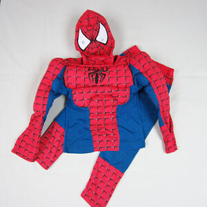 Boys Batman Spiderman Robin Captain America Superman Fancy Outfit Costume 2-7y