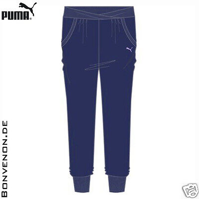 PUMA Script Drapy Pants Fitnesshose Trainingshose 34/XS 36/S 38/M 40/L 42/XL
