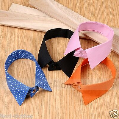 Stylish-Multi-color-Ladies-Women-Clothes-Accessory-Cotton-False-Fake-Neck-Collar