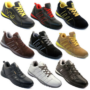 MENS-SAFETY-TRAINERS-SHOES-BOOTS-WORK-STEEL-TOE-CAP-HIKER-ANKLE-SIZE-6-12UK-NEW