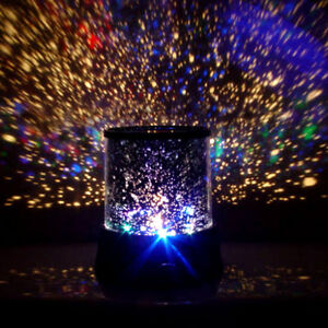 Cosmos Planet  Lamp Star Sky Night Light Projector Christmas Gift Gadget Present