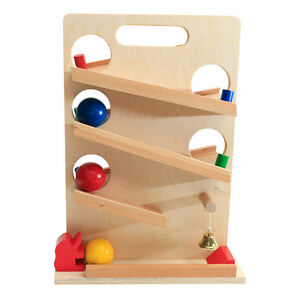 ... -wooden-zig-zag-Ball-drop-and-slide-Rolling-Ball-wooden-toy-baby-toy