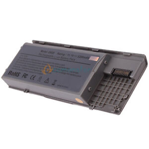 6 Cell Laptop Battery for Dell Latitude D620 D630 Precision M2300 #312434 UK
