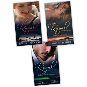 Susan-Stephens-Robyn-Donald-The-Royal-House-Of-Niroli-3-Books-Collection-Set-New